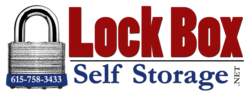 Lock Box Self Storage logo